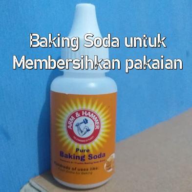 Baking Soda untuk membersihkan pakaian