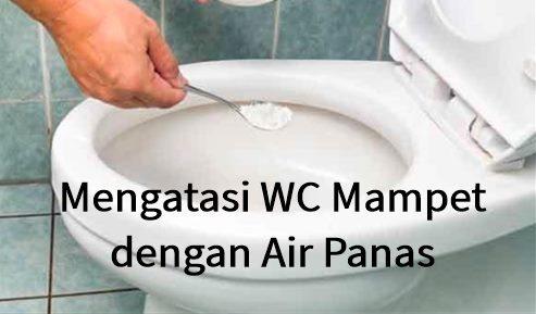 Mengatasi WC Mampet dengan Air Panas