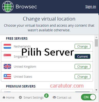 tutorial Browsec VPN