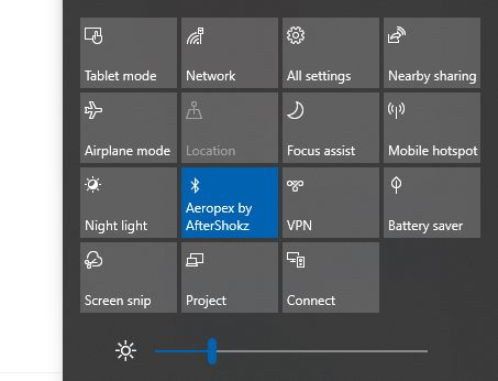 Cara Meredupkan Layar Komputer Windows 10 action center