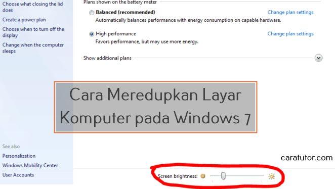 Cara-Meredupkan-Layar-komputer-windows-7