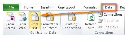 Membuka File CSV di Excel 1