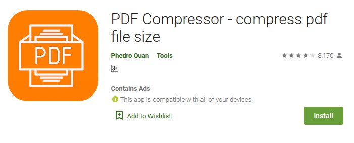 Cara Memperkecil Ukuran File PDF di android
