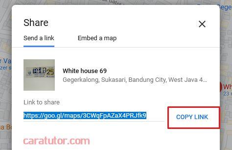 Membuat Barcode Google Maps